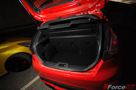 nissan leaf boot space 2014 ford fiesta st boot space forcegt com