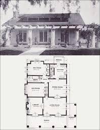 1930s Bungalow Floor Plans Craftsman Bungalow House Plans 1930s