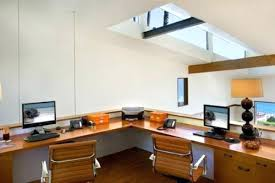 Built In Corner Desk Two Person Corner Desk Corner Office Design With Built In Desks