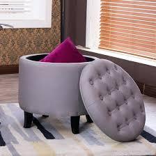 ottoman purple tufted ottoman dark purple tufted ottoman square
