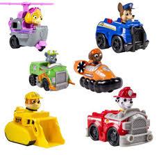 6pcs lot kids toys kawaii dog patrol car toys interesting