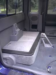 Ford Ranger Truck Tool Box - storage behind seat ranger forums the ultimate ford ranger