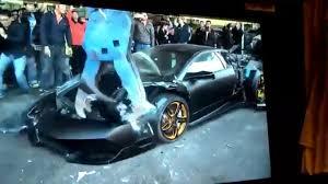 Lamborghini Murcielago 4x4 - lamborghini murcielago destroyed taiwan motor1 com photos