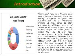 Us Government Business Cards Various Sources Of Start Up Financing Us Business Funding