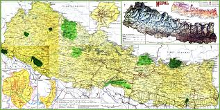 Topography Map Topographic Map Of Nepal
