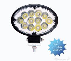 wholesale 6 5 u0027 u0027 oval led auto light system 36w led work light for