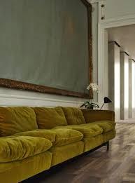 Wohnzimmer Ideen Retro Samt Sofa Wohndesign Wohnzimmer Ideen Brabbu