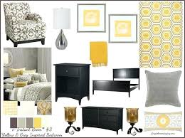 Gray And Yellow Bedroom Decor Appealing Grey And Yellow Bedroom Best Images About E Decorating