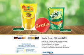 Minyak Goreng Tropical Di Alfamart alfamidi promo btn card gratis hadiah langsung