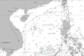Map Of South China Sea Geogarage Blog South China Sea Freedom Of Navigation