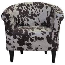 modern u0026 contemporary cowhide chair allmodern