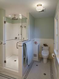 Houzz Black And White Bathroom 25 All Time Favorite Craftsman Black And White Tile Bathroom Ideas