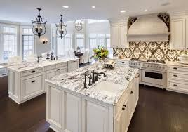 Marble Kitchen Countertops What Tile Coordinates With A Calacatta Or Carrera Marble