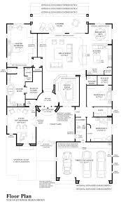 Pizzeria Floor Plan by Treviso The Montierra Home Design