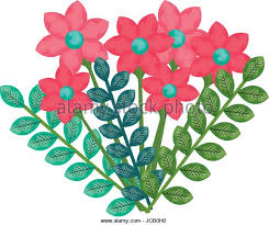 Beautiful Flower Decoration Flower Decoration Nature Icon Outline Stock Photos U0026 Flower