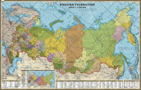 Russia Map Image Large Russia by Russia Administrative English Large Wall Map By Agt Geocenter