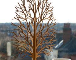 lasercut wooden tabletop tree 1