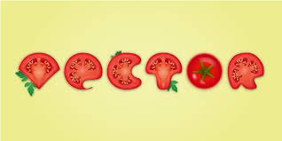 tutorial for illustrator a detailed tomato text effect in adobe illustrator
