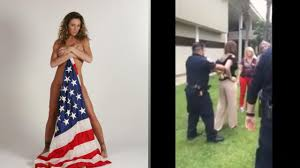 Flying The Us Flag Upside Down Veteran Stopped From Saving Flag From Protest Video Youtube