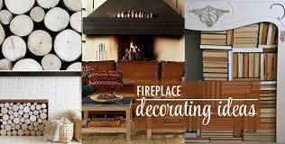 Fireplace Decorating Fireplace Decorating Ideas The Chic Site