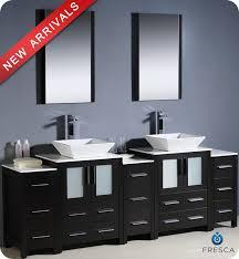 Bathroom Vanity Bowl Sink 84 Fresca Torino Fvn62 72es Vsl Modern Sink Bathroom
