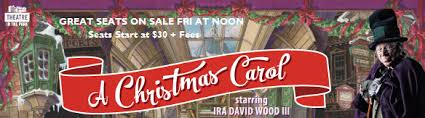 theatre in the park announces 2017 a christmas carol dates dpac