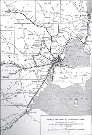 Port Huron Michigan Map by Check Out This Map Of Detroit U0027s Electric Rail System In 1915 The