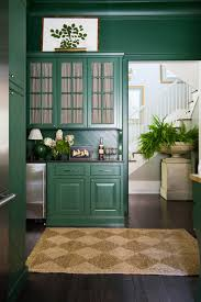 is green a kitchen color painting kitchen walls cabinets the same color emily a