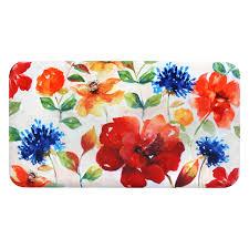 david burke premier kitchen 2n pk04 bright floral anti fatigue