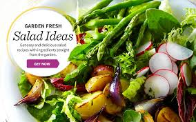 Garden Salad Ideas Simple Garden Fresh Salads