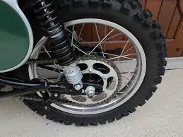 restored honda cr250 elsinore 1973 photographs at classic bikes