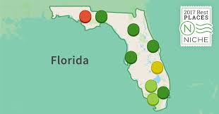 Map Venice Florida by 2017 Best Places To Raise A Family In Florida Niche