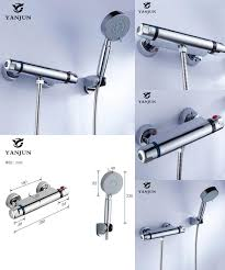 visit to buy yanjun shower faucet sets modern thermostatic
