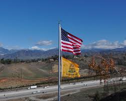 Proper Flag Placement Do It Yourself Commercial Flagpole Installation From One