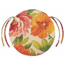 appealing round patio cushions with round outdoor seat cushions