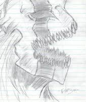 ichigo hollow form by damothman on deviantart
