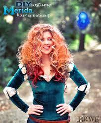 disney princess makeup tutorial mice phan tutorial by mice phan diy merida hair and makeup costume2