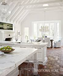 Kitchen Design Traditional Home by Gorgeous White Kitchen Traditional Home
