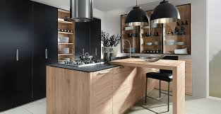 cuisine schroder schröder küchen trend sincrono sanremo oak color schwarz