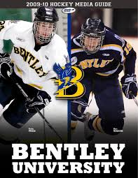 bentley university athletics logo 2009 10 bentley university hockey media guide by lipe issuu