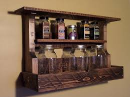 kitchen spice rack ideas pallet spice racks for kitchen recycled things