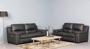 canapé cuir relax électrique à prix discount meubles en bois