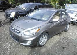 hyundai accent 201 kmhcu4aexdu374998 mv 907a gray hyundai accent at medford ny on