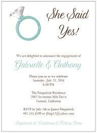 wedding engagement invitation wording stephenanuno