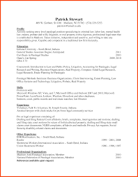 Attorney Resume Template Paralegal Resume Sample Eliving Co