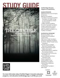 study guide the crucible by hartford stage issuu