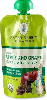 rabbit organics reviews rabbit organics fruit squeeze pouch 4 oz at rei
