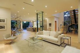 modern house lights home and interior