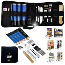 good nudge da vinci 33 piece sketch u0026 drawing pencils studio
