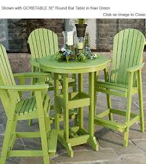 Bar Height Dining Chairs Outdoor Poly Furniture Amish Peb2135 Elite Comfo Back Bar Dining